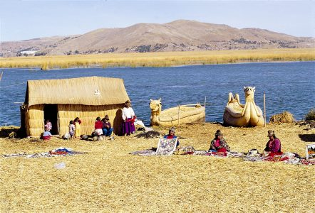 Uros Indians in Lake Titicaca (b) - photo courtesy of PromPeru