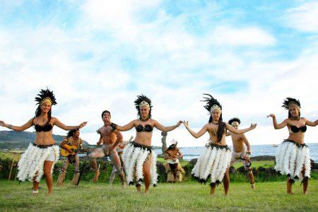 dancers Easter Island