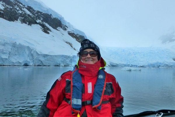 Marion Bunnik, TJ4U Co-Founder in Antarctica