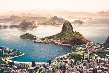 View of Rio de Janeiro from Christ the Redeemer Statue